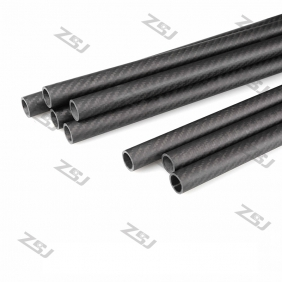 Wholesale FT071 Free shipping by HK post/ePacket 40X38X500mm twill matte full/pure/100% carbon fiber tube/pipes/strips for 1pc