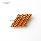 Wholesale M3x30mm Orange aluminum Standoff,Step spacer/pillar RC QuadCopte