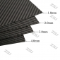 Wholesale FCRP006 400x500x1.5mm 100%/full/pure twill matte finished carbon