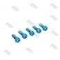 Wholesale M3X20M  Blue color Socket Aluminum Bolts,cap head aluminum screw
