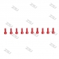 Wholesale Red M3X6MM  Aluminum Socket Bolts,cap head aluminum screws for R